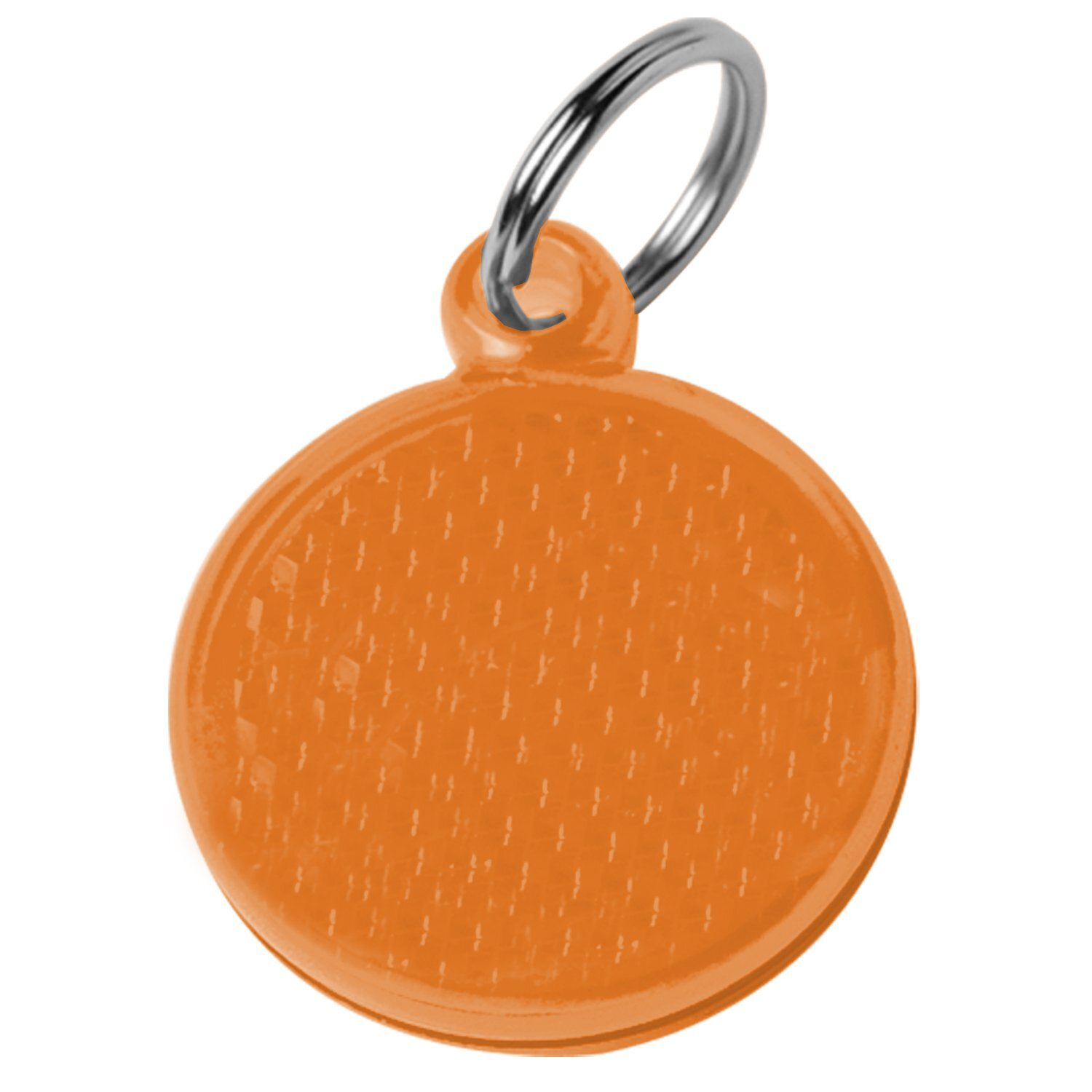 Round Reflector Pet ID Tag