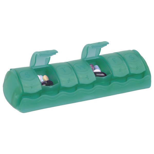 "Seven Day Med Minder Strip Pillbox, 7"""