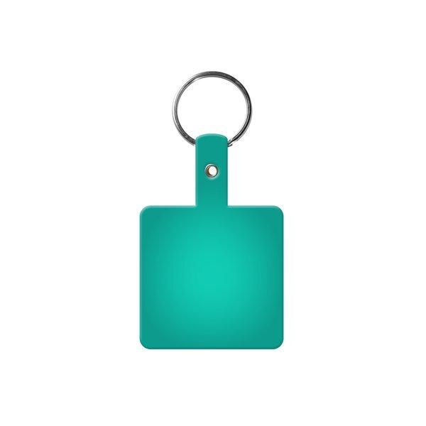 Square Flexible Key Tag