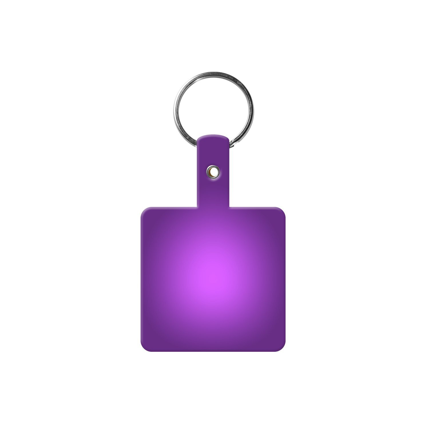 Square Flexible Key Tag