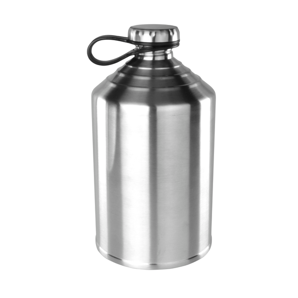 Stainless Steel Single Wall Craft Growler, 64oz.