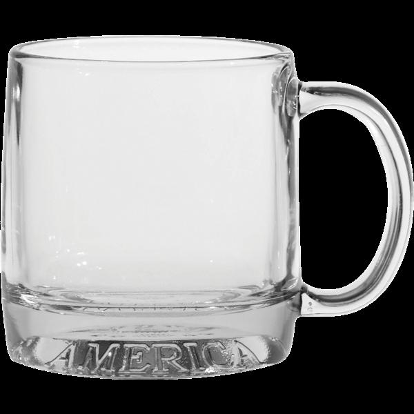 Celebrate America Glass Mug, 12oz.