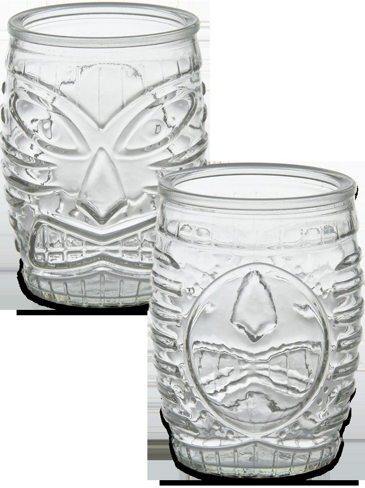 Tropical Tiki Glass, 16oz.