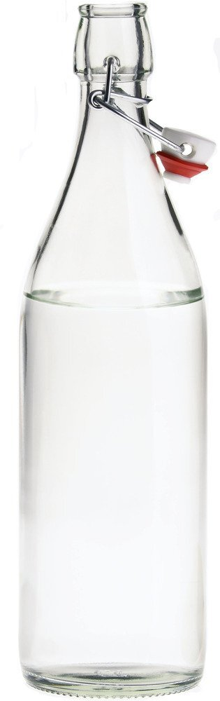 Giara Glass Water Bottle, 1L