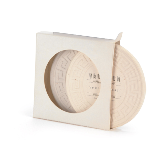 Absorbent Round Ceramic Coaster