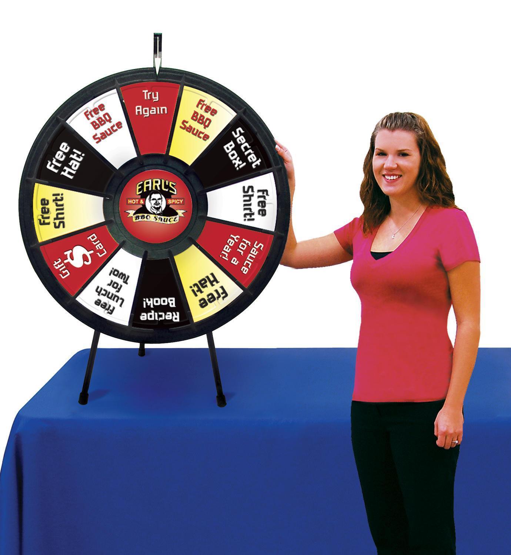 Spin 'N' Win™ Prize Wheel Kit