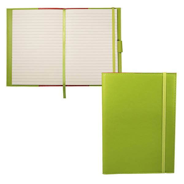 Tuscany™ Faux Leather Refillable Journal