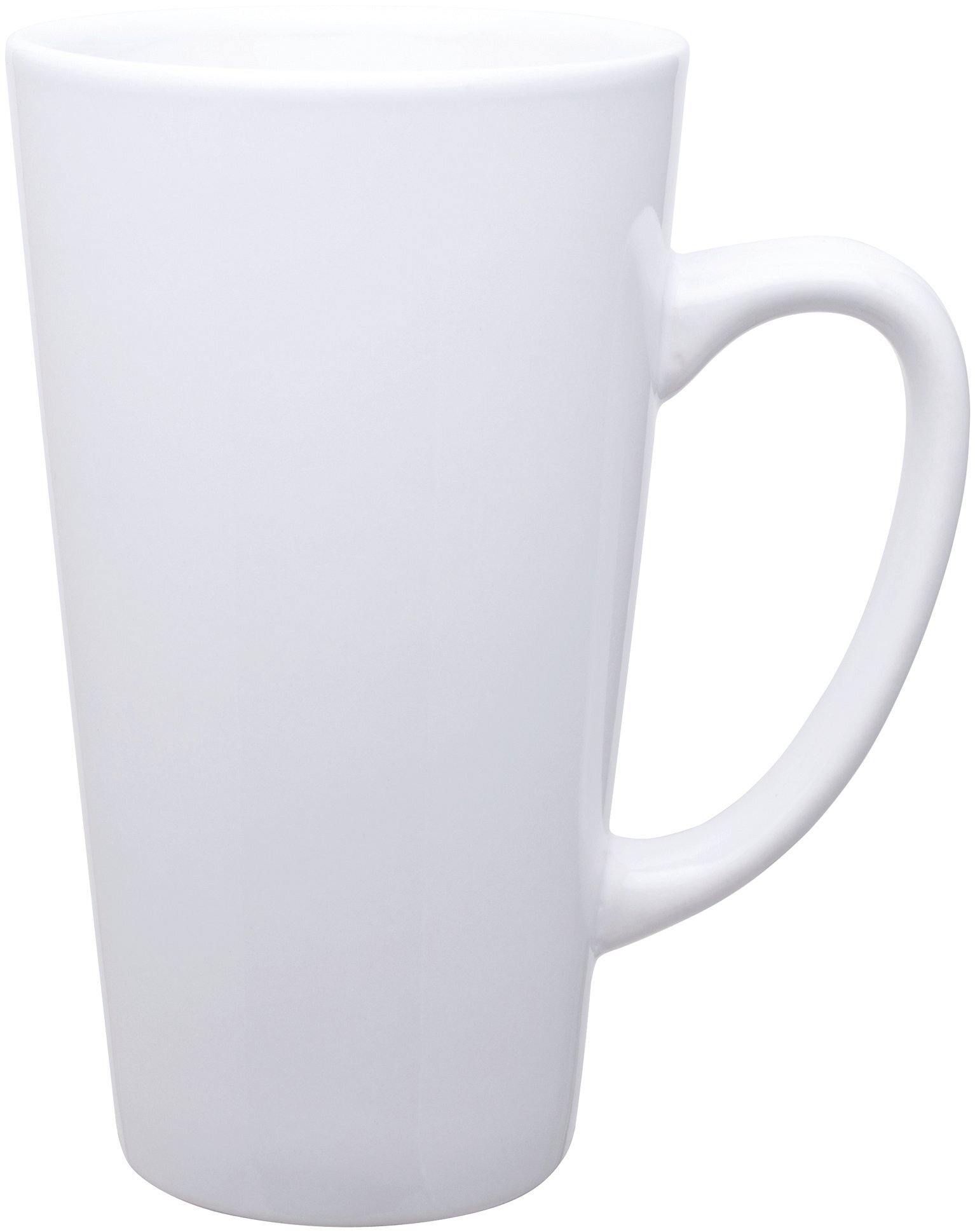 Batavia Tall Latte Mug, 16oz., White