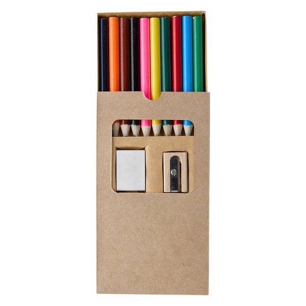 Colored Pencil 12 Piece Drawing Set