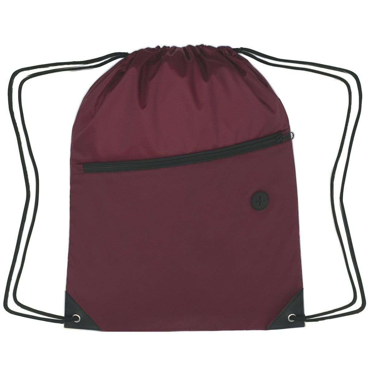Largo 210D Polyester Sports Pack w/ Front Zipper