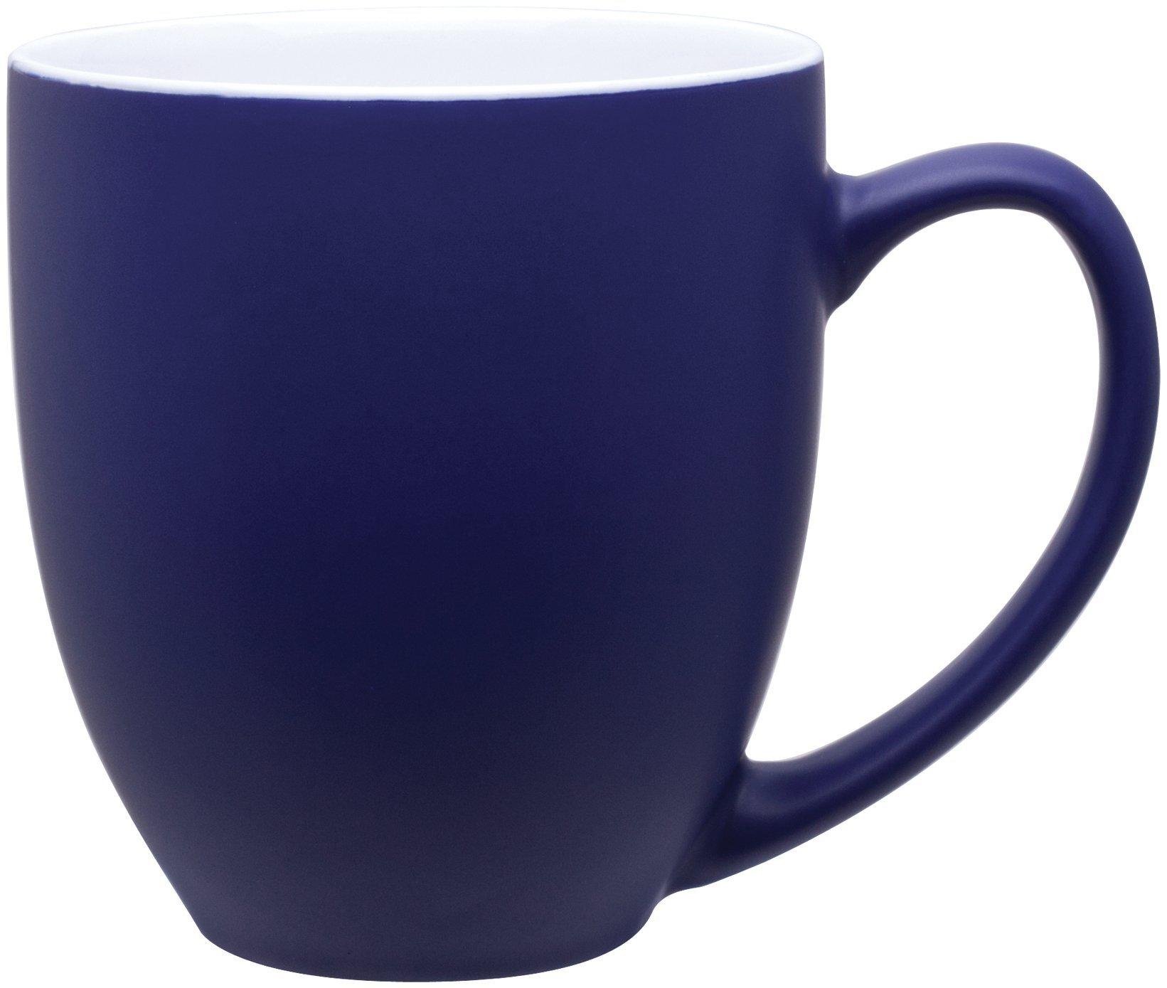 Matte Two-Tone Bistro Mug, 15oz.