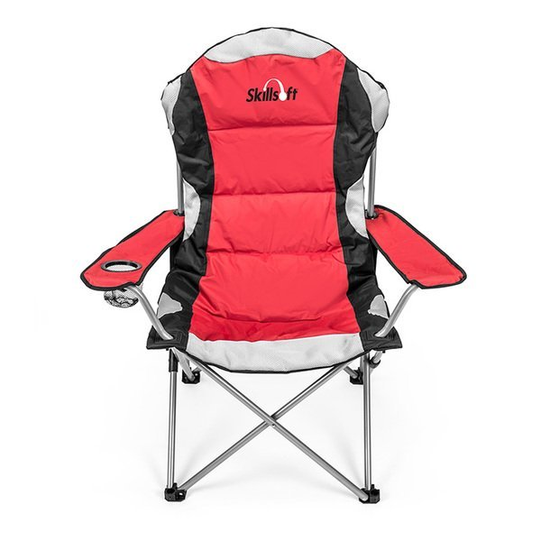 Go-Everywhere Padded Fold-Up Lounge Chair