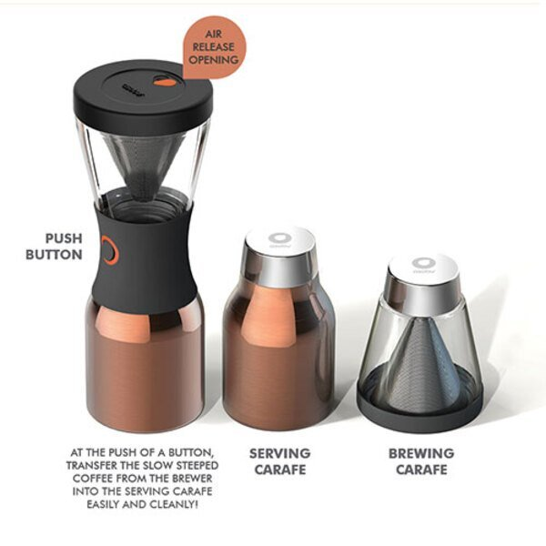 Coldbrew Portable Insulated Coffee Brewer Set