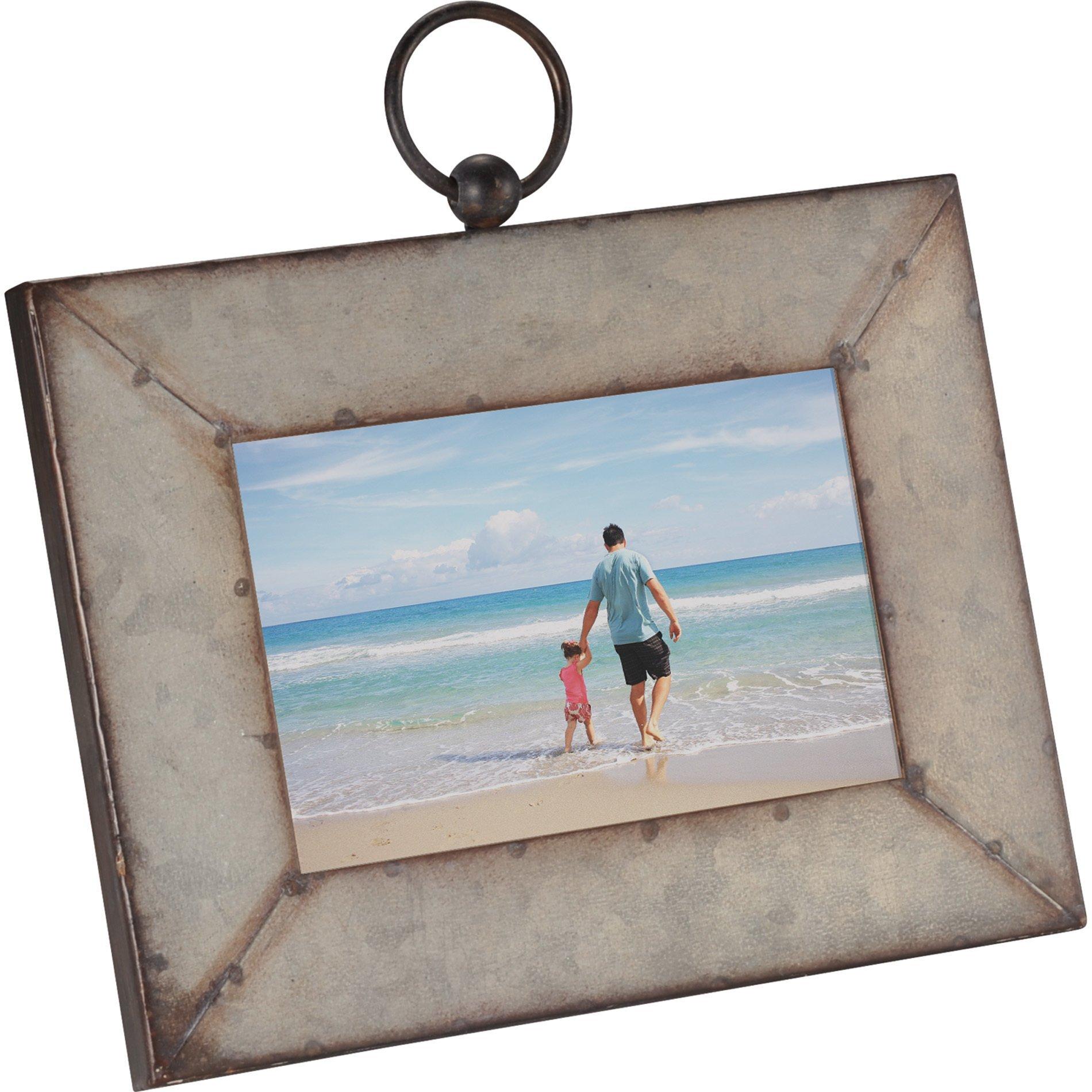 "Galvanized Frame, 4"" x 6"""