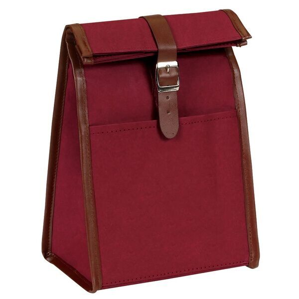 Classic Roll Top Washable Kraft Paper Lunch Bag