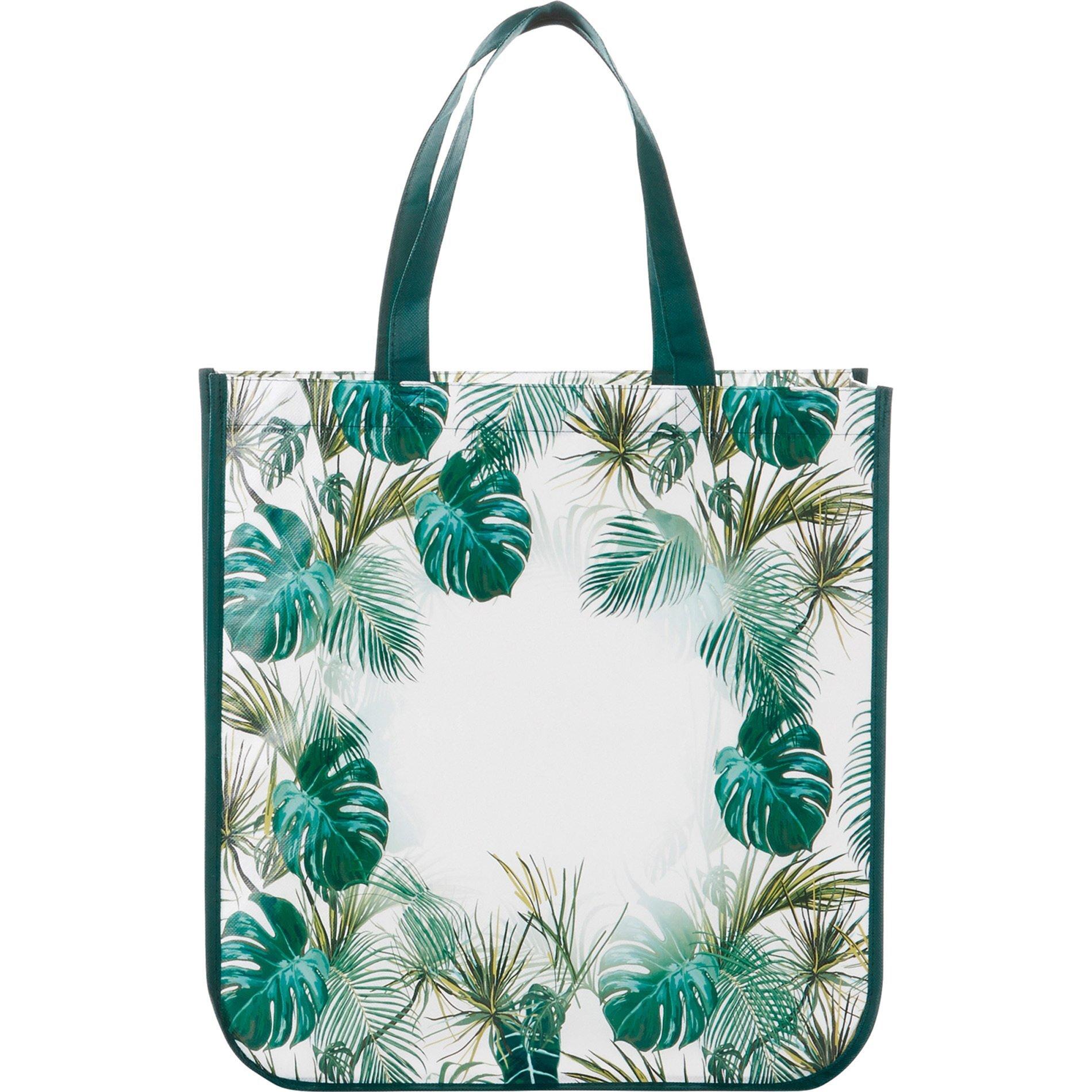 Palms Laminated Non-Woven Shopper Tote