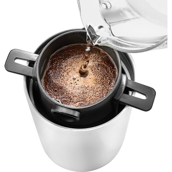 All-In-One Portable Electric Coffee Maker, 14oz.