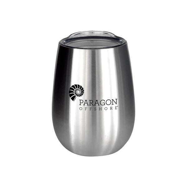 Vacuum Insulated Wine Tumbler, 10oz.