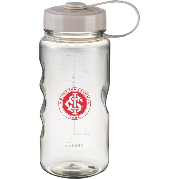 Excursion Wide Mouth Sport Bottle w Measurement Scale, 18oz.