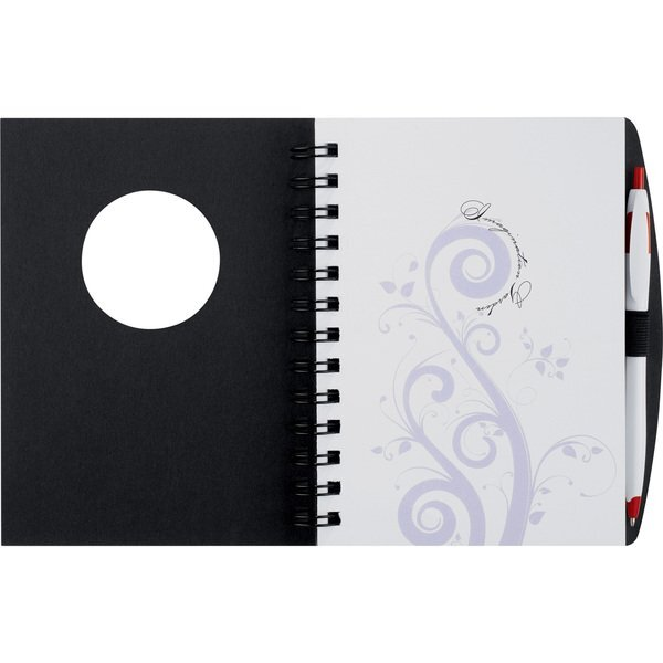 "Frame Circle Hardcover Journal Book, 5-3/4"" x 7-1/8"""