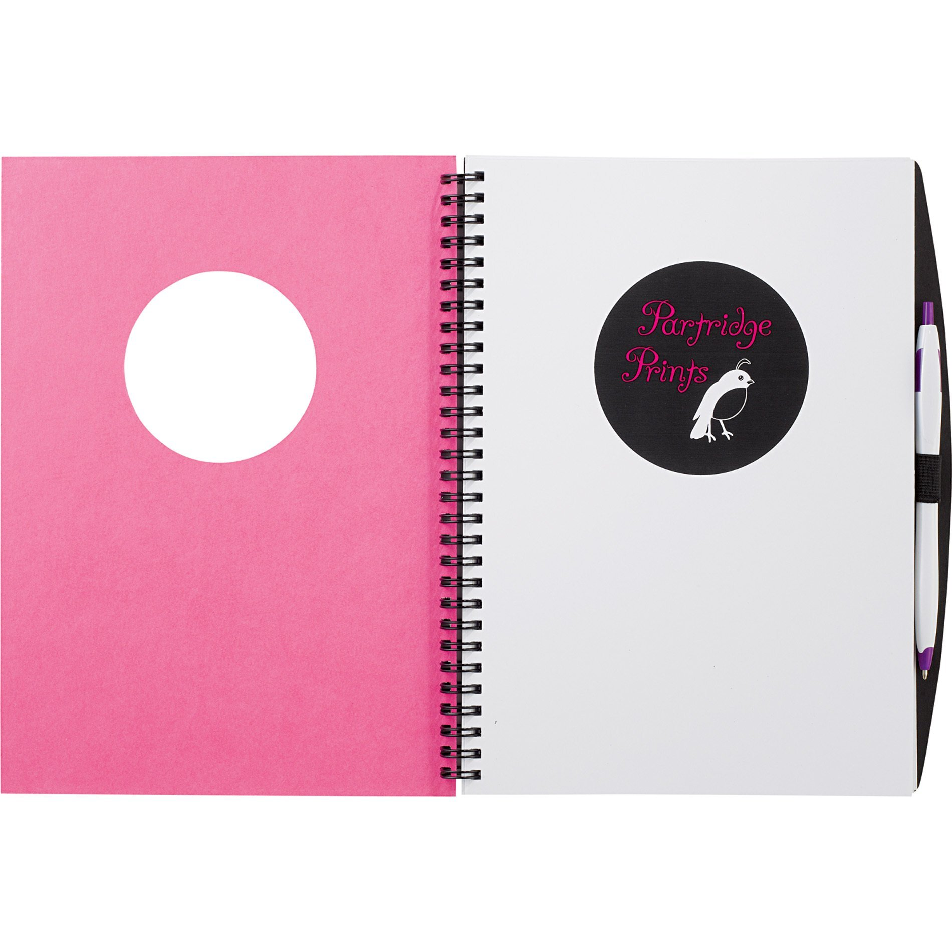 "Frame Circle Large Hardcover JournalBook, 7-3/4"" x 10"""