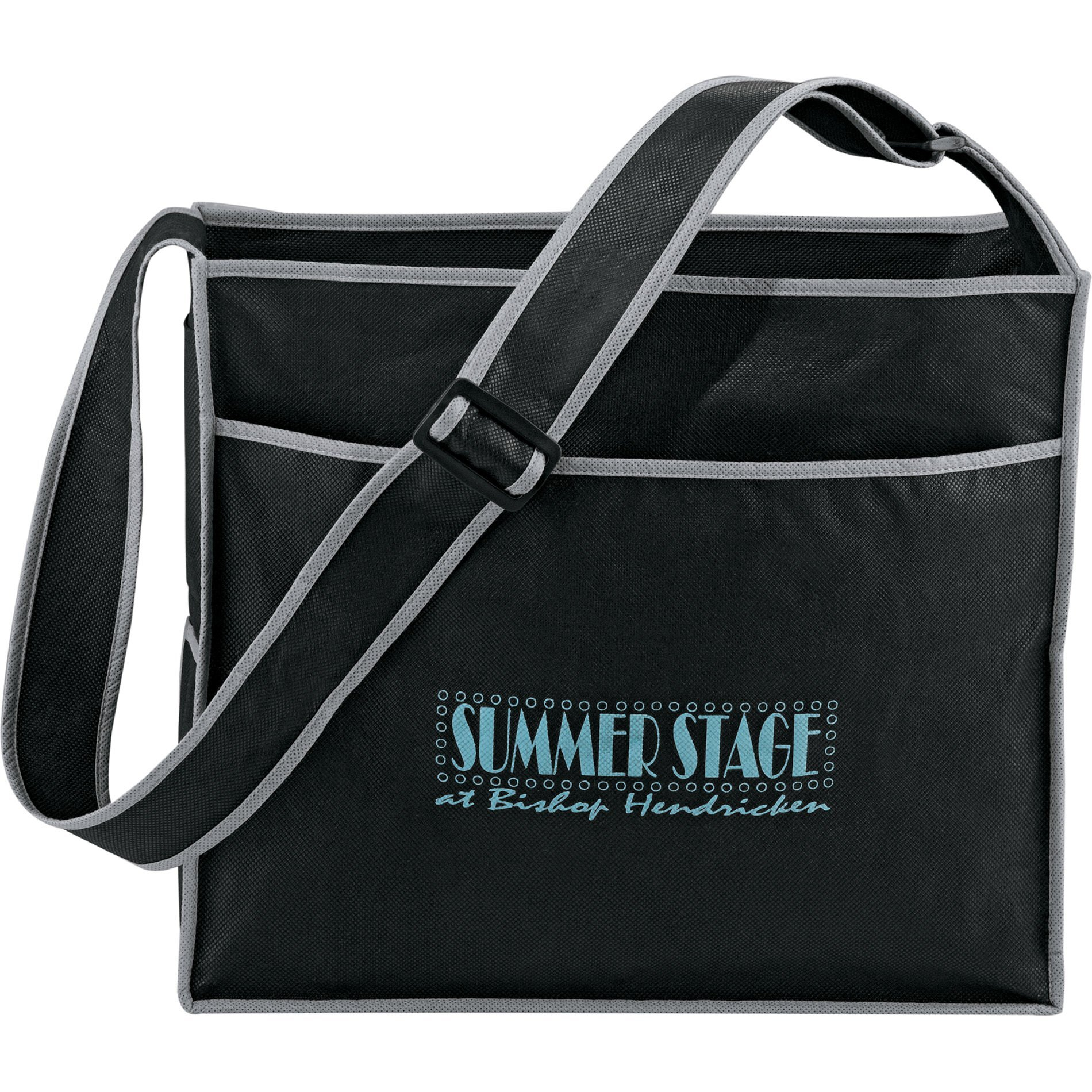 Deluxe Box Non-Woven Convention Shoulder Tote