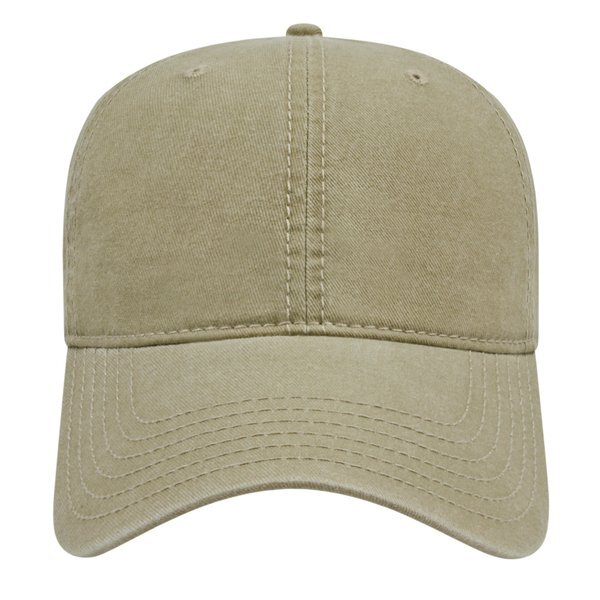 Classic Washed Pigment Dyed Unconstructed Cap