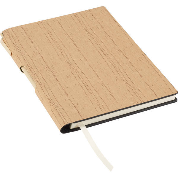 "Bari Notebook with Matching Pen, 6"" x 8-1/2"""