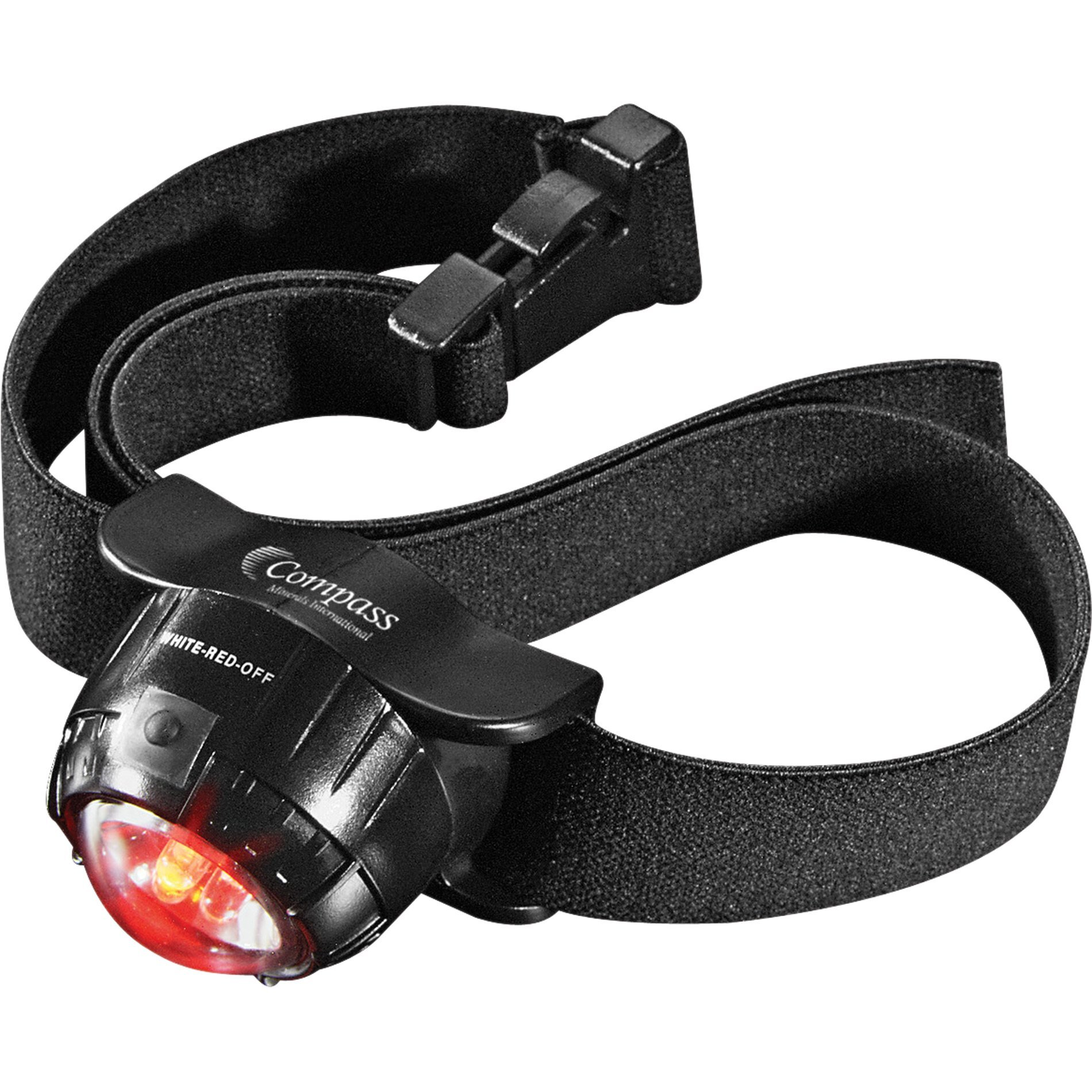 Three LED Headlamp with 2 Lithium Batteries