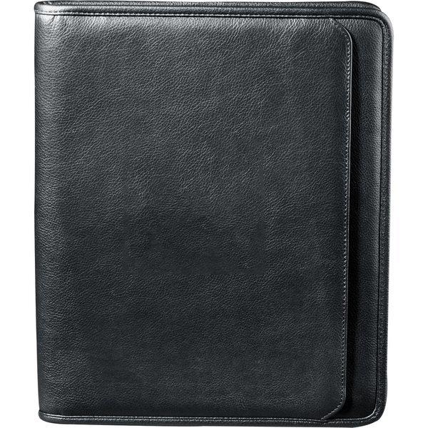 Manhattan Leather Zippered Padfolio