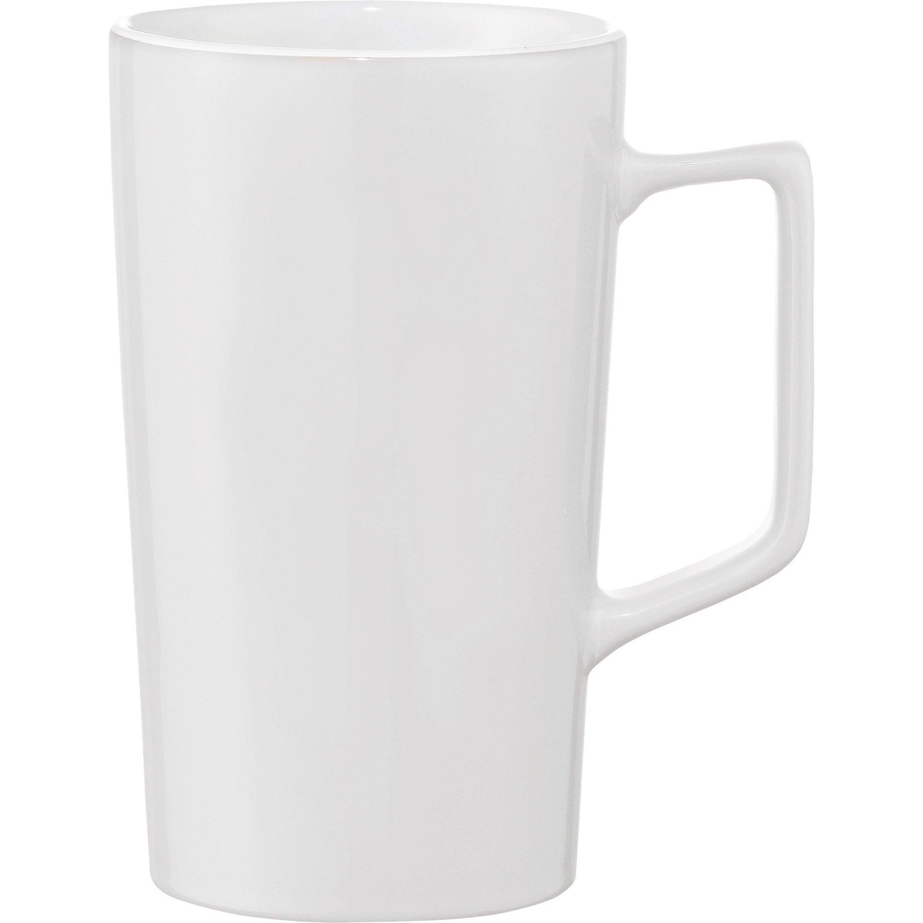 Venti Ceramic Mug, 20oz. - Free Set Up Charges!