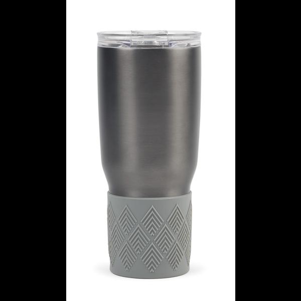 Aviana™ Midas Double Wall Stainless Tumbler w/ Grip, 24oz.