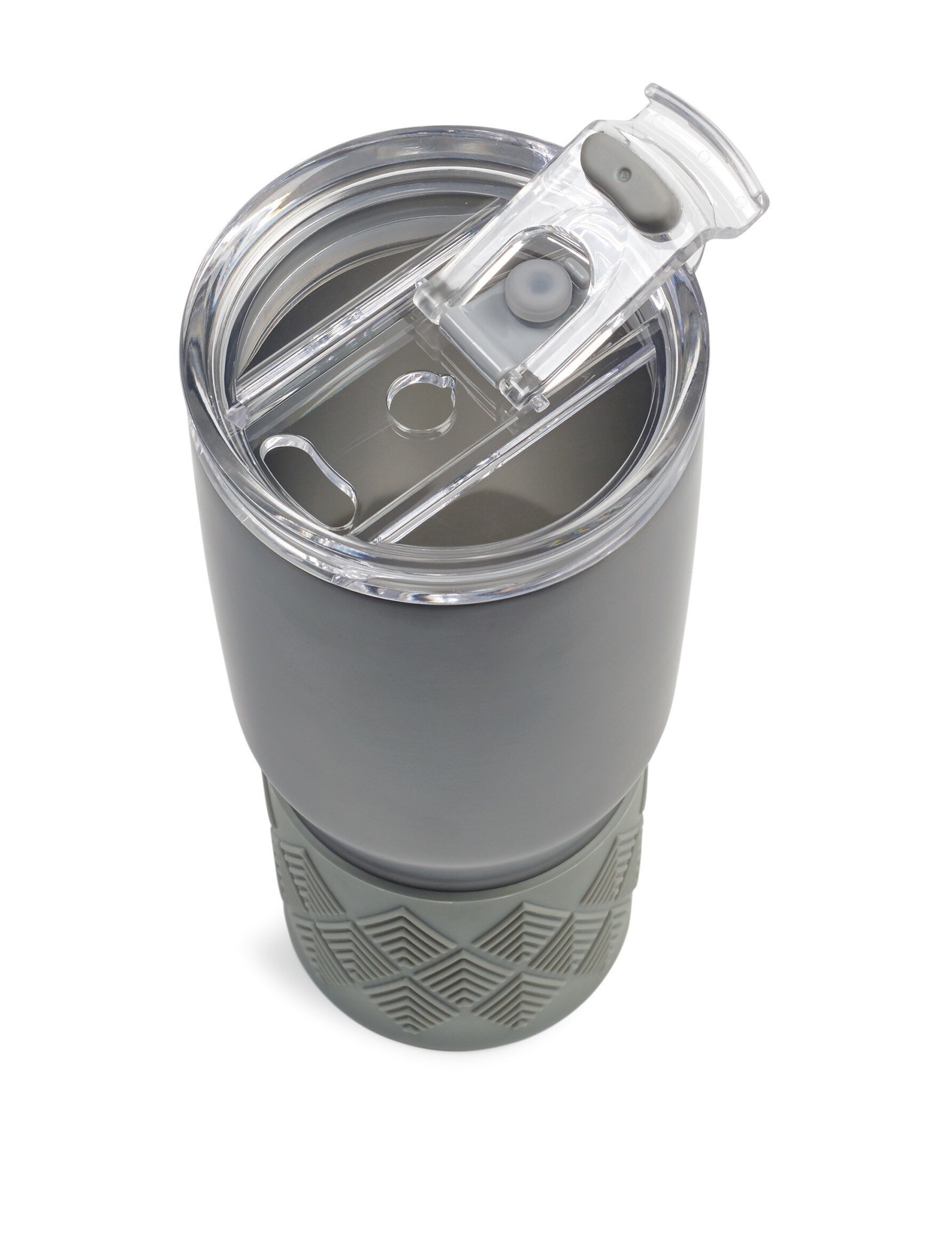 Aviana™ Midas Double Wall Stainless Tumbler w/ Grip, 24oz.