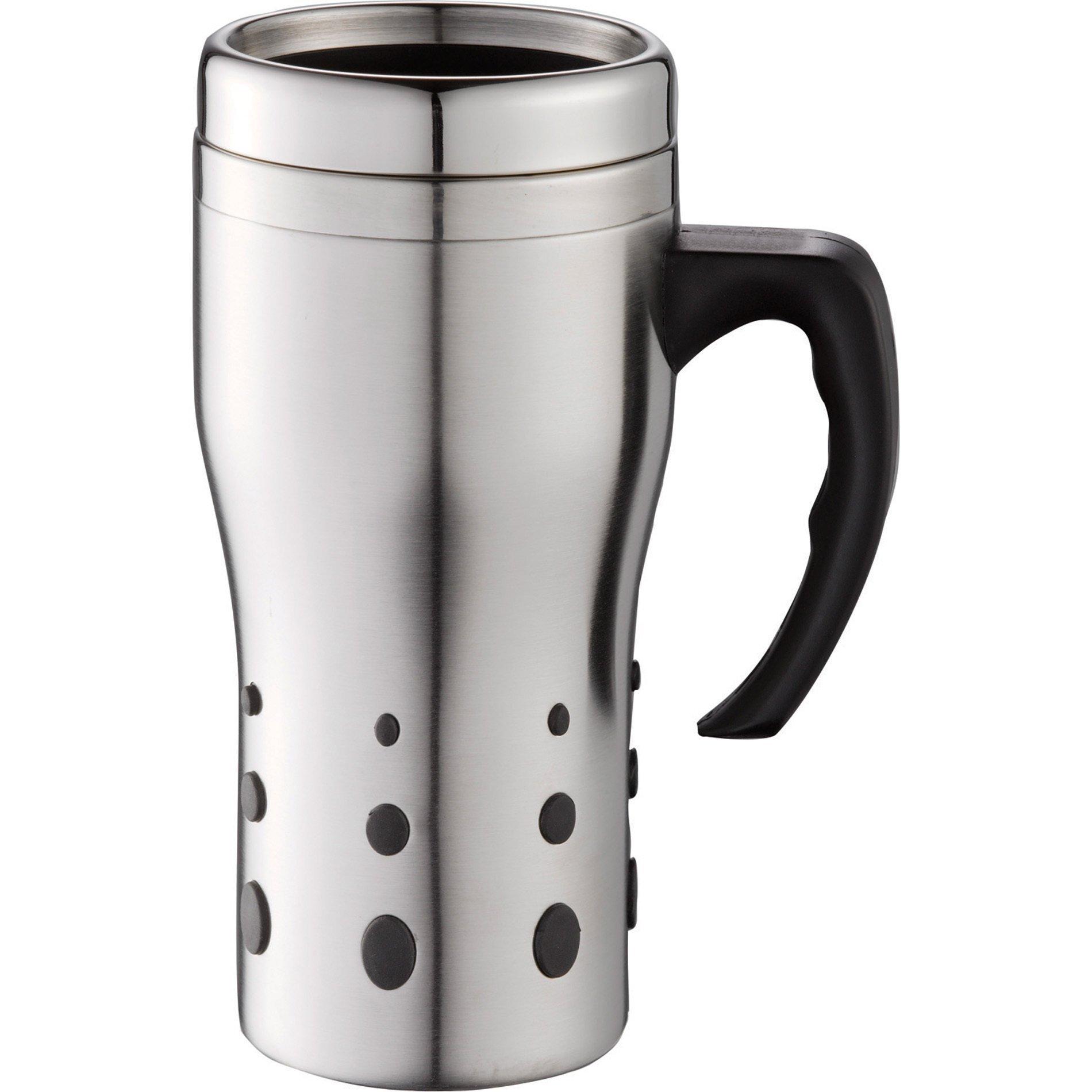 Terrano Stainless Steel Travel Mug, 16oz.