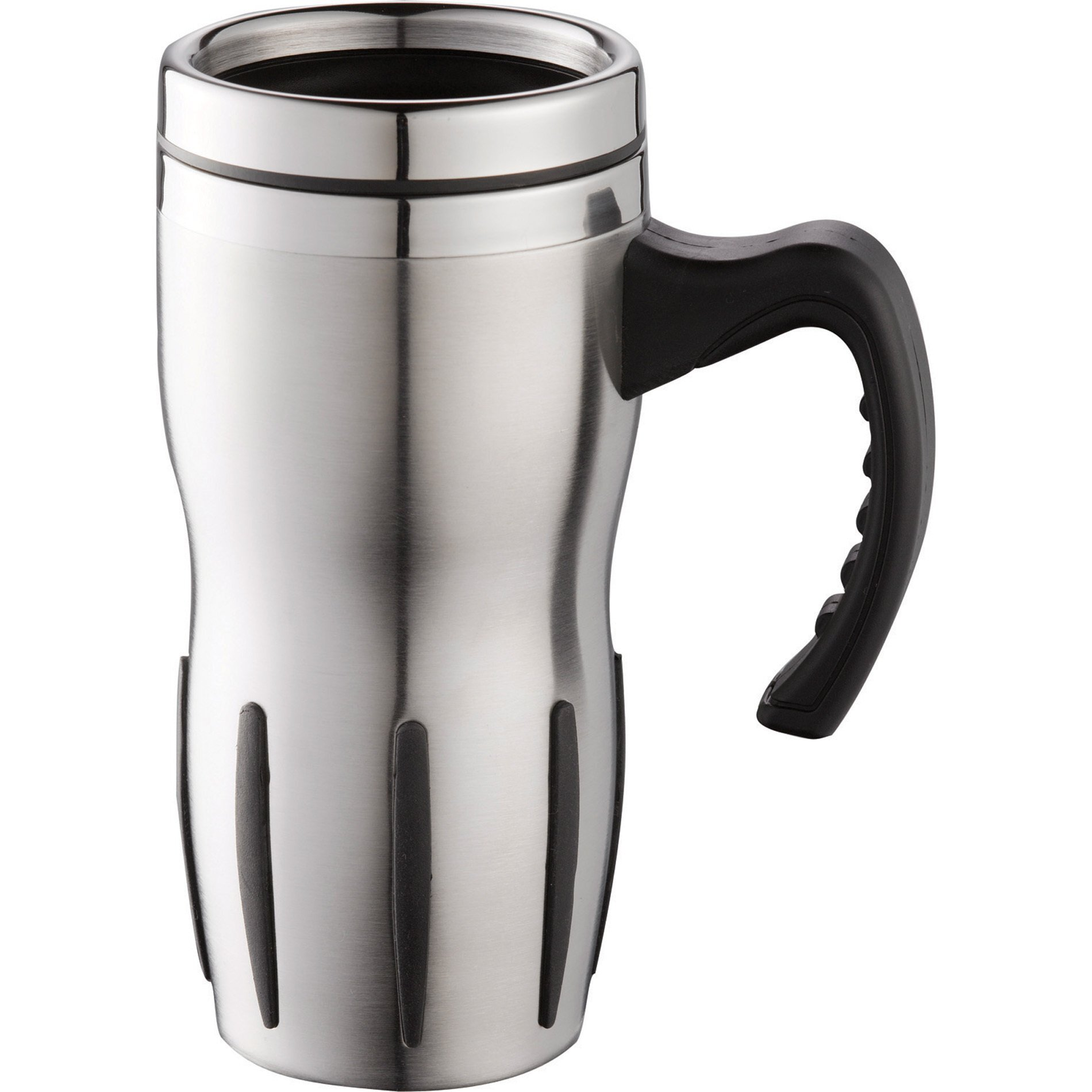 Tech Stainless Steel Travel Mug, 14oz.