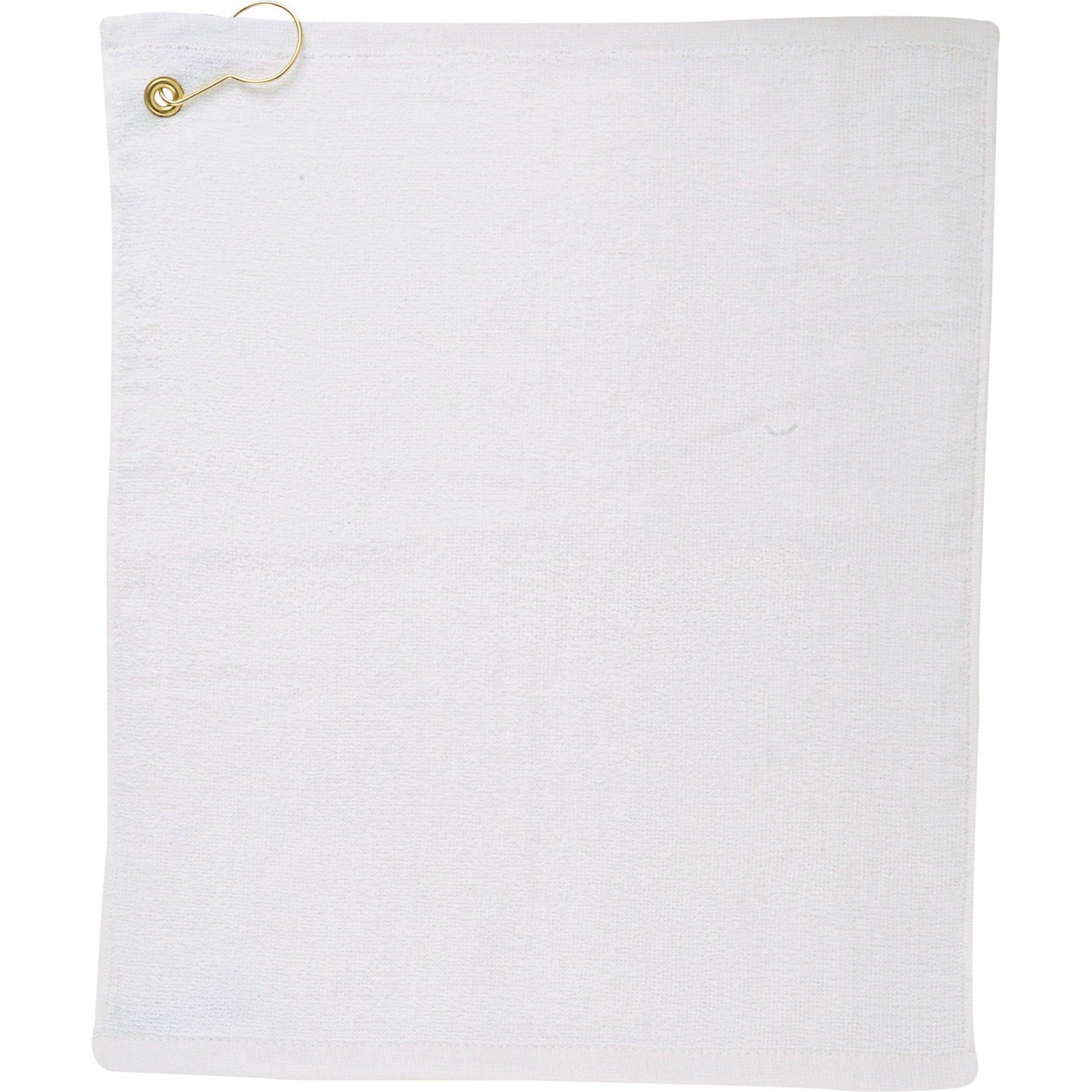 Lightweight Terry Velour Golf Towel, 1.3 lb