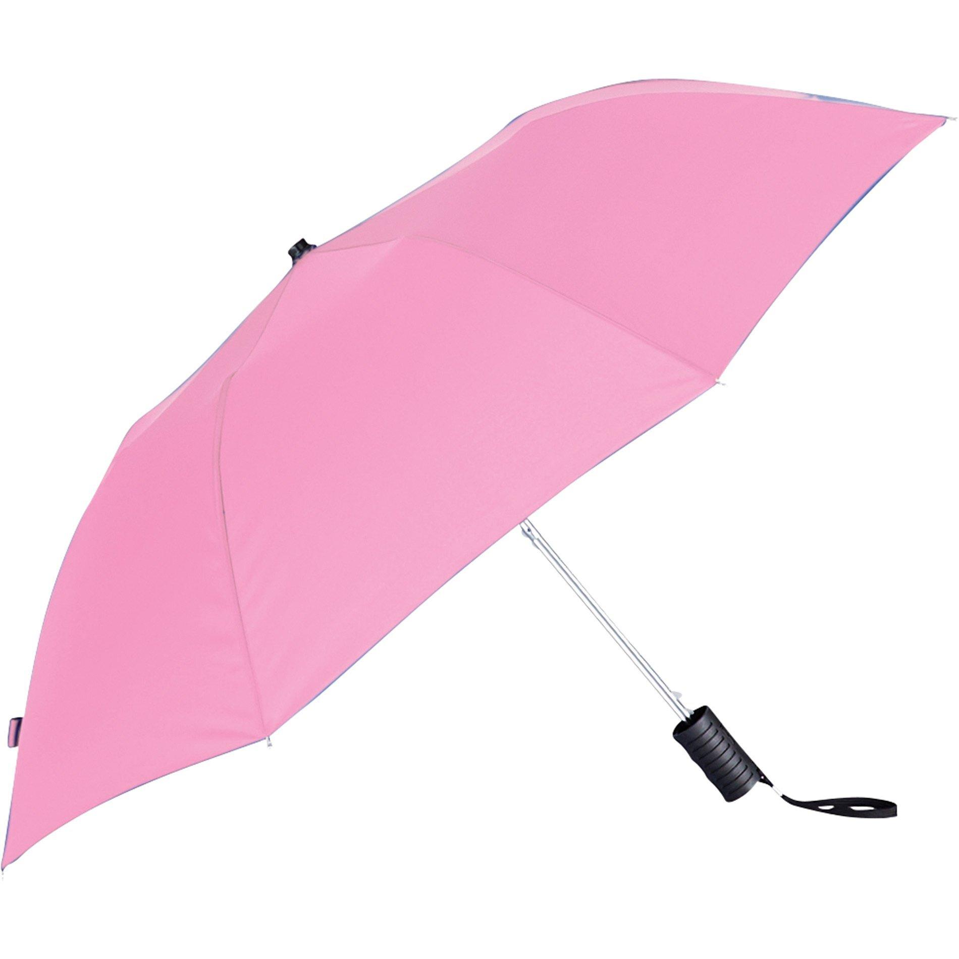 "Compact Auto Folding Umbrella, 42"" Arc"