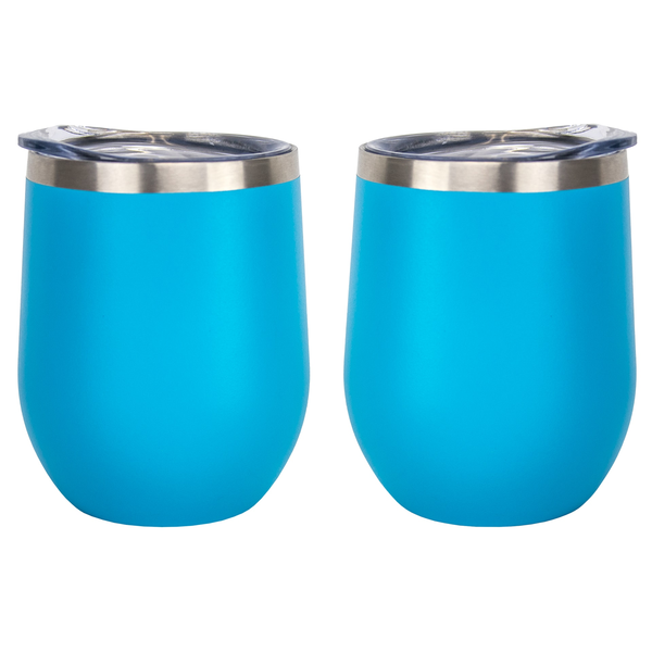 Aster Powder Coated Stainless Tumbler, 11oz.