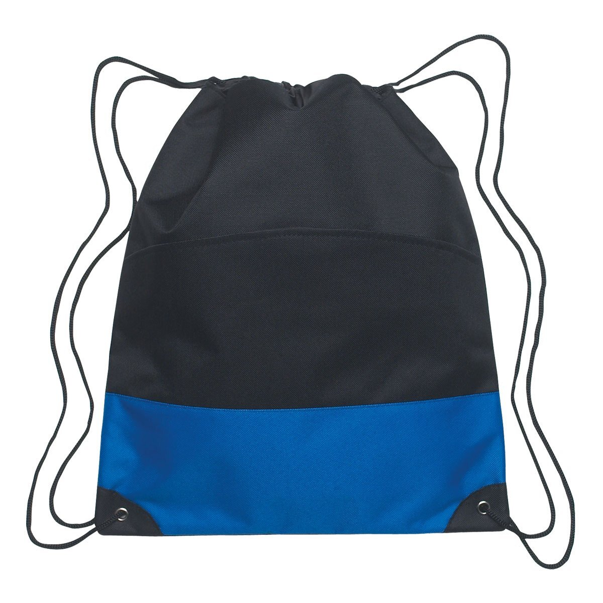 Bold Stripe Polyester Drawstring Sports Pack