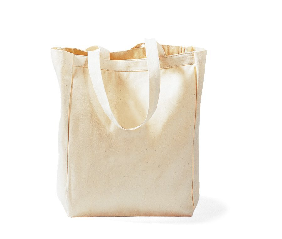 All Purpose Cotton Canvas Tote, Natural