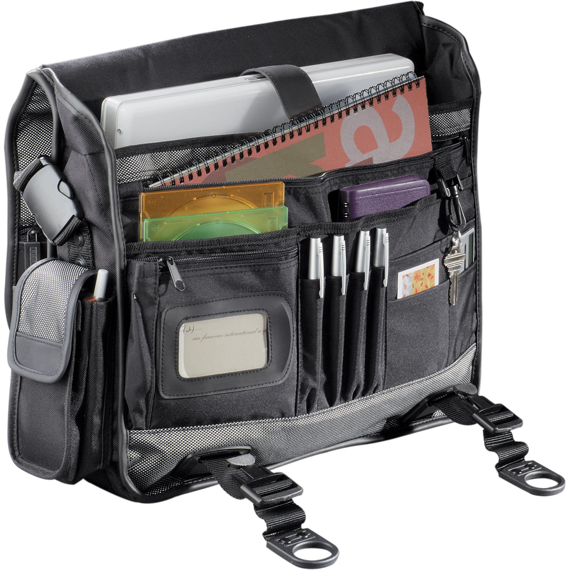 "MicroTek 15"" 1680D Nylon Computer Messenger Bag"