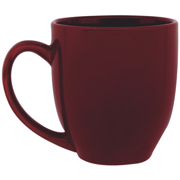 Bistro Jewel Tone Ceramic Mug, 14oz. - Colors