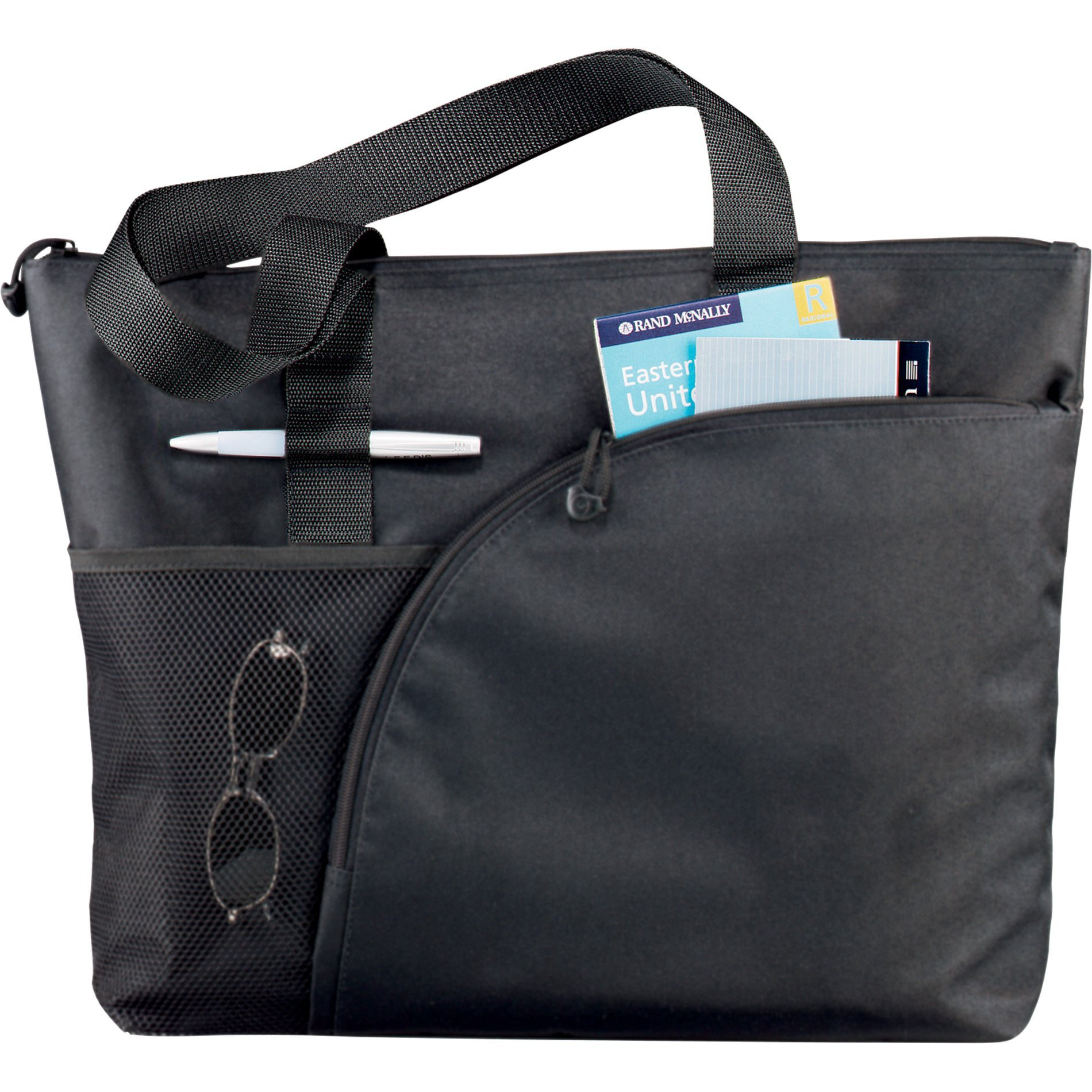 Excel Sport Polycanvas Zippered Business Tote