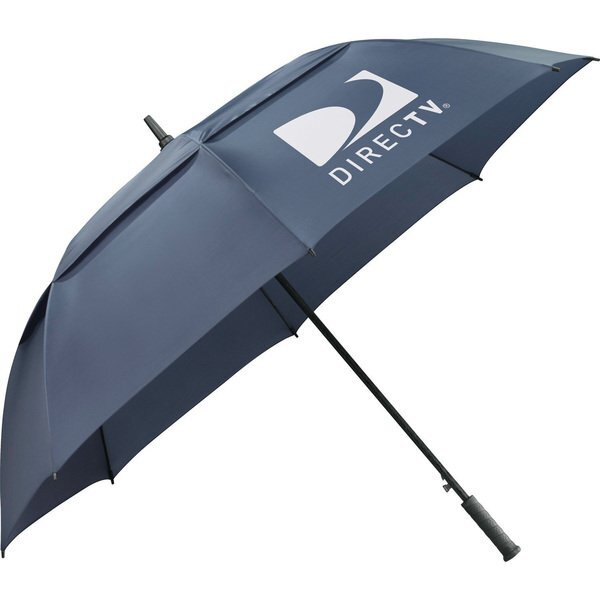 "Slazenger Caddy Vented Automatic Golf Umbrella, 64"" Arc"