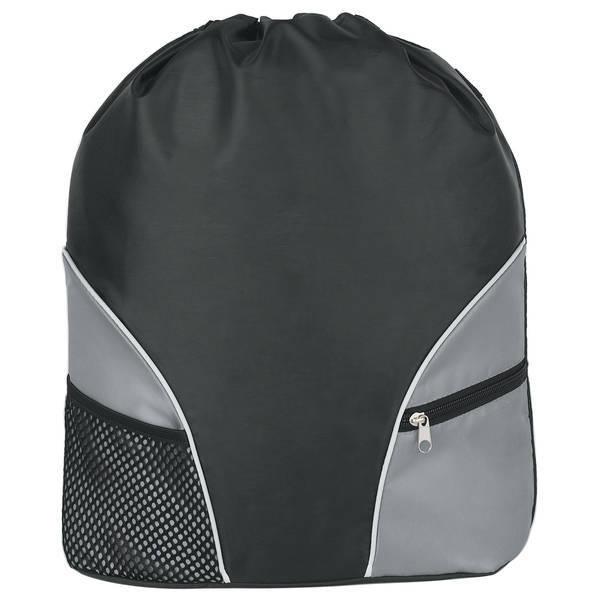 Zippy 210D Polyester Drawstring Backpack