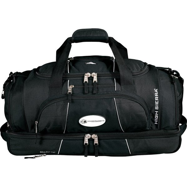 High Sierra® Colossus Polycanvas Drop Bottom Duffel, 26""