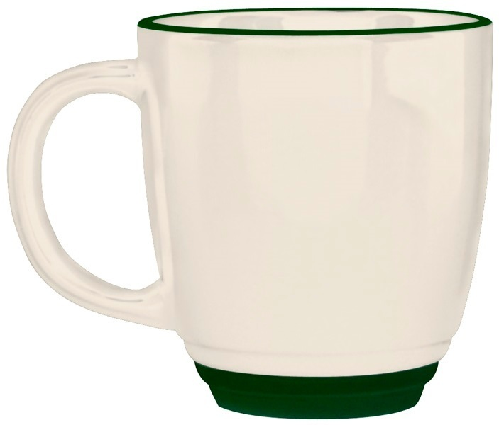 Diplomat Bistro Mug, 14 oz.