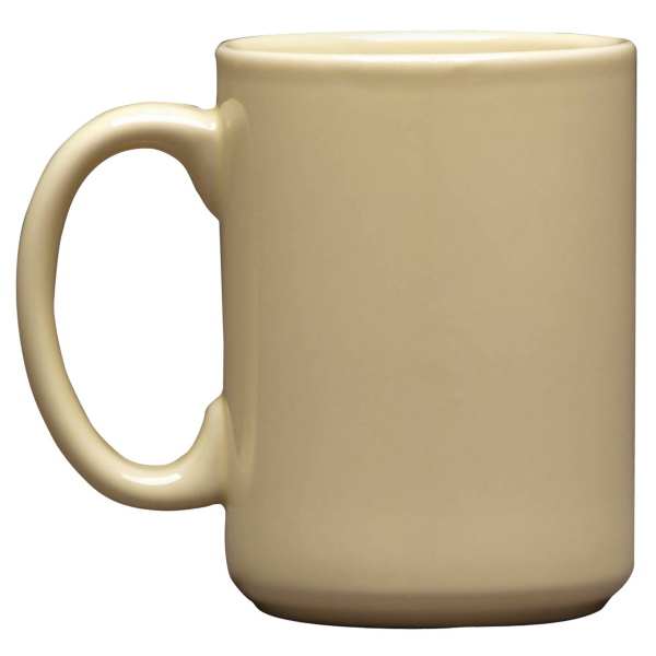 Etched Atlas Mug, 15oz.