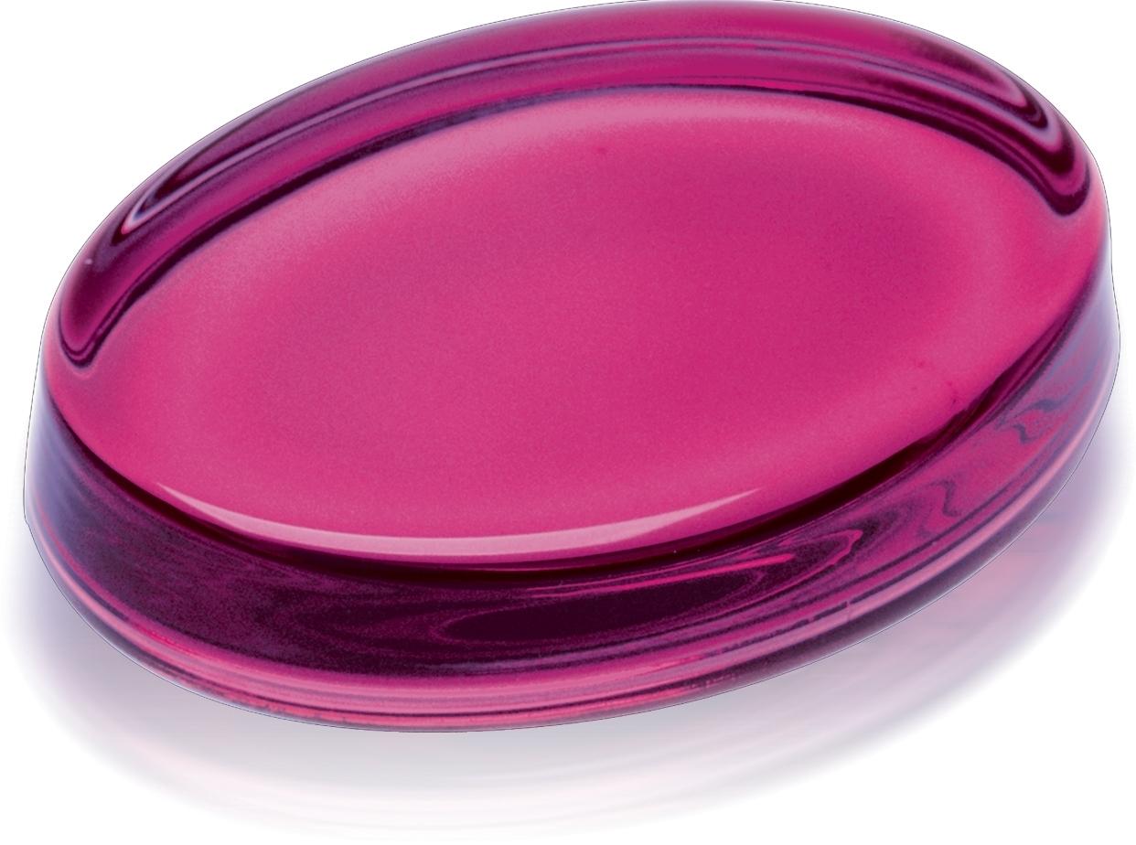 Gemstone Pink Crystal Paperweight
