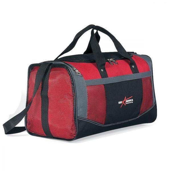 """Highlander 600D Polyester Classic Sport Bag, 19"""""""